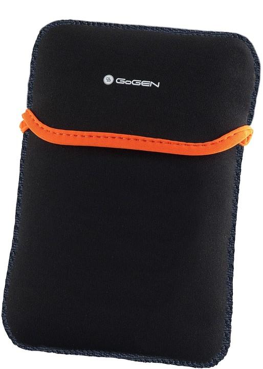 """GoGEN neoprenové pouzdro pro 7,85"""", černá/oranžová"""