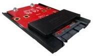 """Kouwell ST-170M Převodník 3.3V mSATA SSD na 3.3V 1.8"""" SATA"""