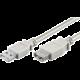 PremiumCord USB 2.0 kabel prodlužovací, A-A, 1m