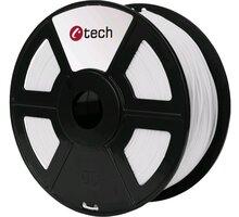 C-TECH tisková struna (filament), PETG, 1,75mm, 1kg, bílá - 3DF-PETG1.75-W