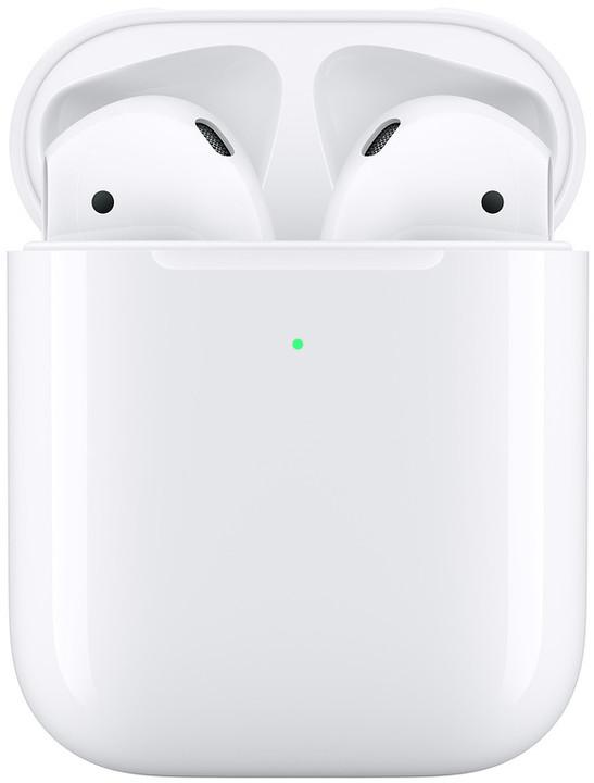 Apple AirPods 2019 s bezdrátovým nabíjecím pouzdrem