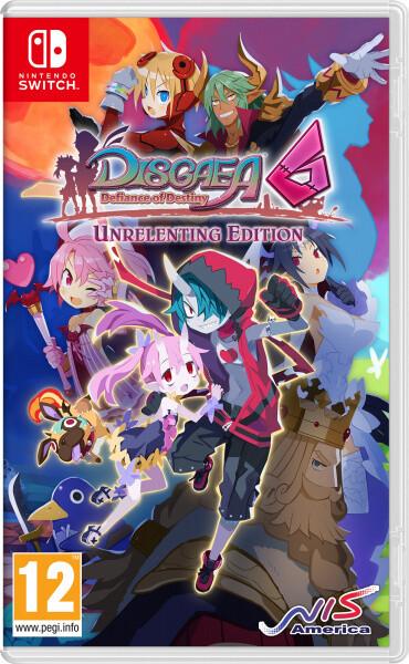 Disgaea 6: Defiance of Destiny - Unrelenting Edition (SWITCH)