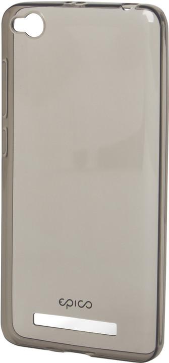 EPICO pružný plastový kryt pro Xiaomi Redmi 4A RONNY GLOSS - černý transparentní