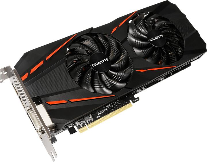 GIGABYTE GeForce GTX 1060 GAMING-6GDG1, 6GB GDDR5 (rev 2.0)
