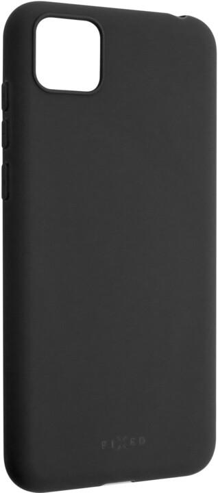 FIXED Story zadní pogumovaný kryt pro Huawei Y5p, černá