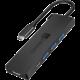CONNECT IT USB-C hub, 5v1 (USB-C,3xUSB-A,HDMI), externí, černá