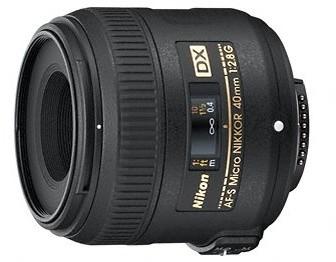 Nikon objektiv Nikkor 40mm f/2,8G ED AF-S Micro DX