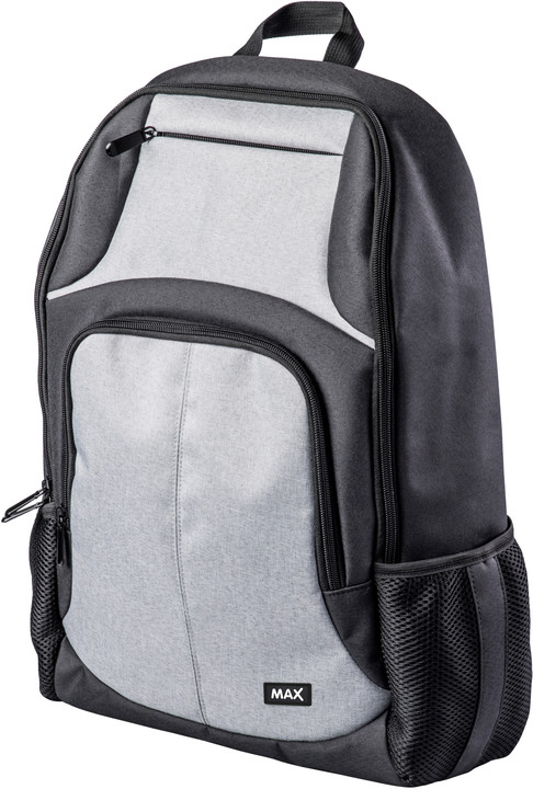 "MAX batoh na notebook MBP1501BG 15"", šedo/černá"