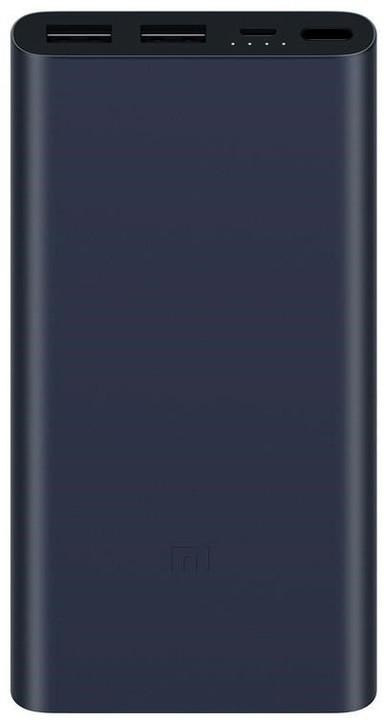 Xiaomi Mi Power Bank 2S 10000mAh, černá