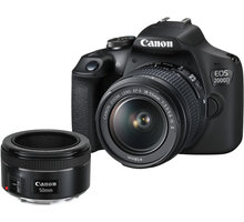 Canon EOS 2000D + EF-S 18-55mm IS + EF 50mm 1.8 STM - 2728C022