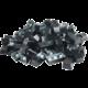 Glorious vyměnitelné klávesy Doubleshot ABS, 104 kláves, černá, US