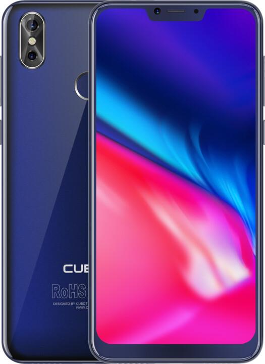 CUBOT P20, 4GB/64GB, modrá