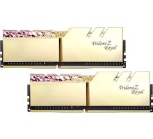 G.SKill TridentZ Royal 16GB (2x8GB) DDR4 3000 CL16, zlatá