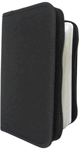 Cover It box-pouzdro:24 CD zapínací černé