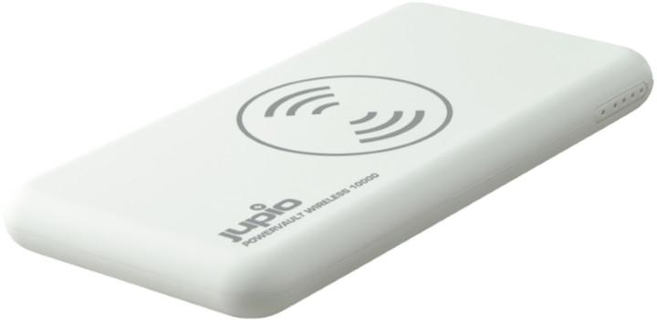 Jupio PowerVault Wireless 10.000 mAh, bílá