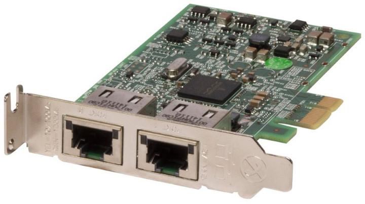 Dell 2-portová sítová karta 1GbE - Broadcom 5720 DP, nízký profil