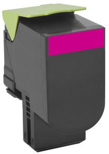 Lexmark 80C20M0, magenta, return