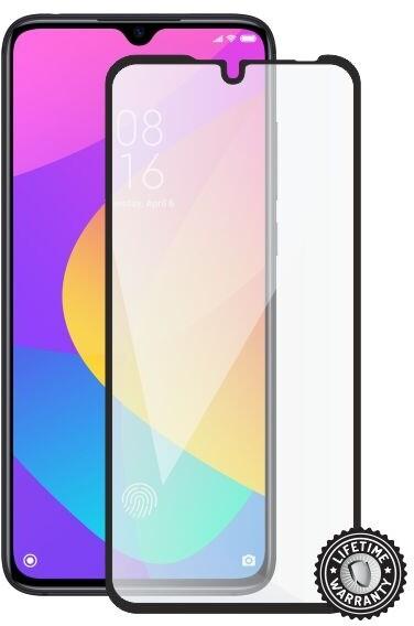 Screenshield ochrana displeje Tempered Glass pro Xiaomi Mi 9 Lite, full cover, černá