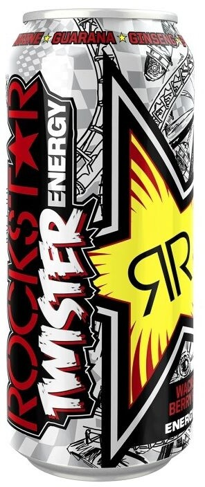RockStar Twister Energy Wacked Red Berry Flavour 500 ml