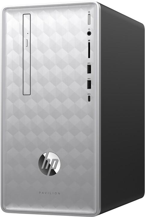 HP Pavilion 590-p0000nc, stříbrná