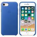 Apple kožený kryt na iPhone 8 / 7, elektro modrá