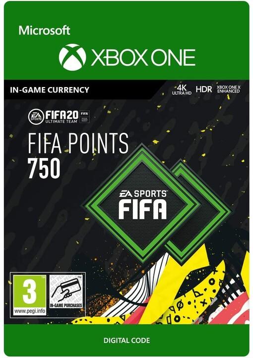 FIFA 21 - 750 FUT Points (Xbox ONE) - elektronicky