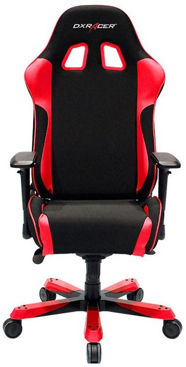 DXRacer King OH/KS11/NR, černá/červená