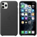 Apple kožený kryt na iPhone 11 Pro Max, černá