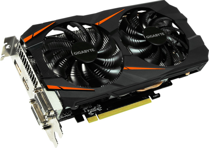 GIGABYTE GeForce GTX 1060 WINDFORCE OC 6G, 6GB GDDR5