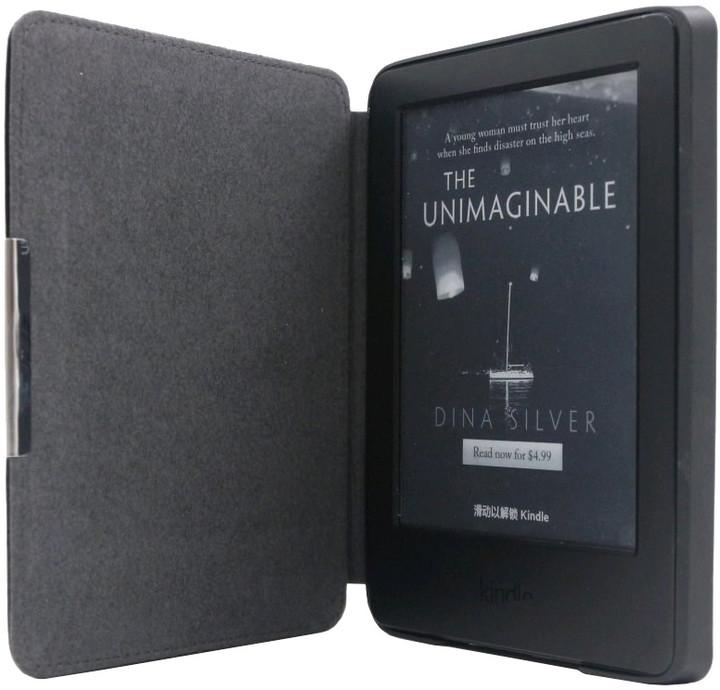 C-TECH PROTECT pro Kindle 8 TOUCH, WAKE/SLEEP funkce, hardcover,AKC-12, černá
