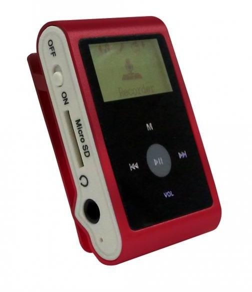 Mpman MP 30 WOM, červená