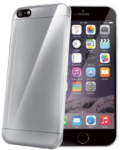 CELLY Ultrathin pouzdro pro Apple iPhone 6 Plus, čirá