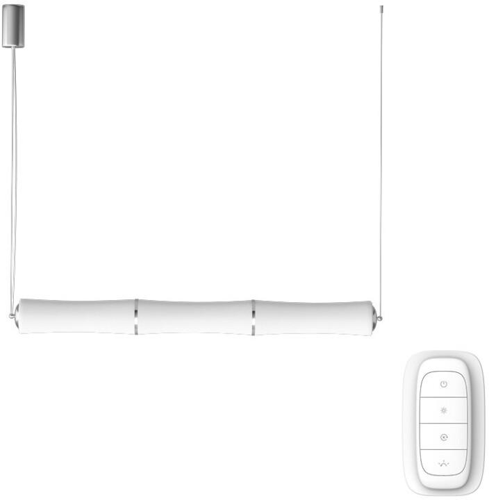 IMMAX NEO BAMBOOS Smart závěsné svítidlo 135cm 45W bílé Zigbee 3.0