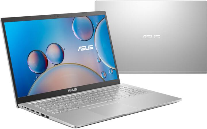 ASUS 15 X515MA, stříbrná