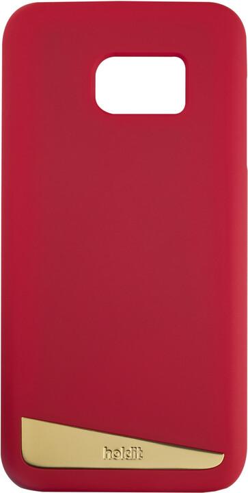 Holdit Case Samsung Galaxy S7 - Red Silk