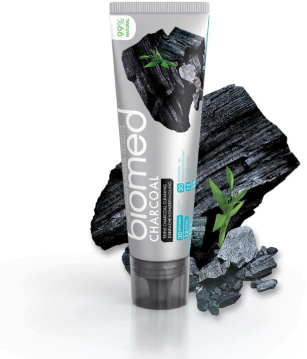 Zubní pasta BIOMED Charcoal, 100 ml
