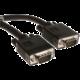C-TECH kabel VGA, M/M, stíněný, 3m