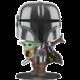 Figurka Funko POP! Super Sized Star Wars - Mandalorian with The Child