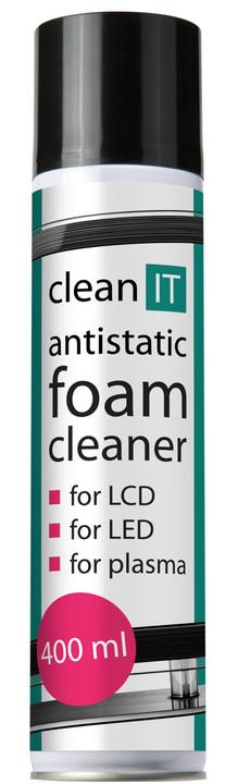 Clean IT antistatická pěna na obrazovky 400ml