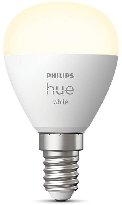 Philips Hue LED White žárovka BT E14 5,7W 470lm 2700K P45