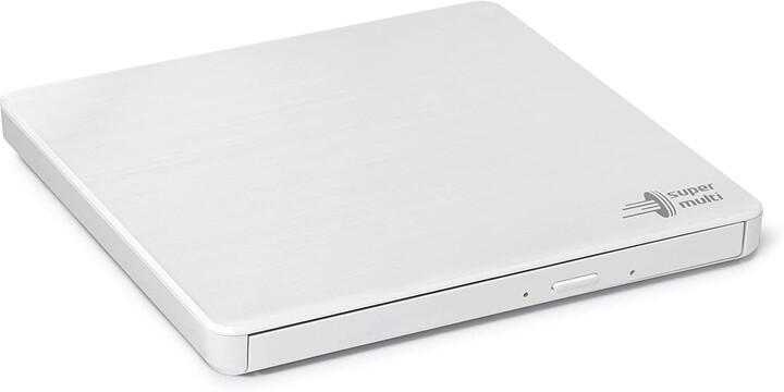 Hitachi GP60NW60 externí, M-Disc, USB, bílá