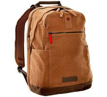 """WENGER ARUNDEL - 15,6"""" batoh na notebook a tablet, camel - 602830 + WENGER TIDAL Rain Cover - pláštěnka na batoh, černá (v ceně 299,-) zdarma"""