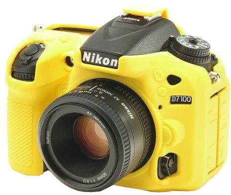 Easy Cover silikonový obal pro Nikon D7100, žlutá