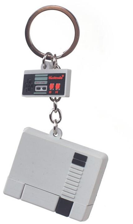 Klíčenka Nintendo - NES 3D