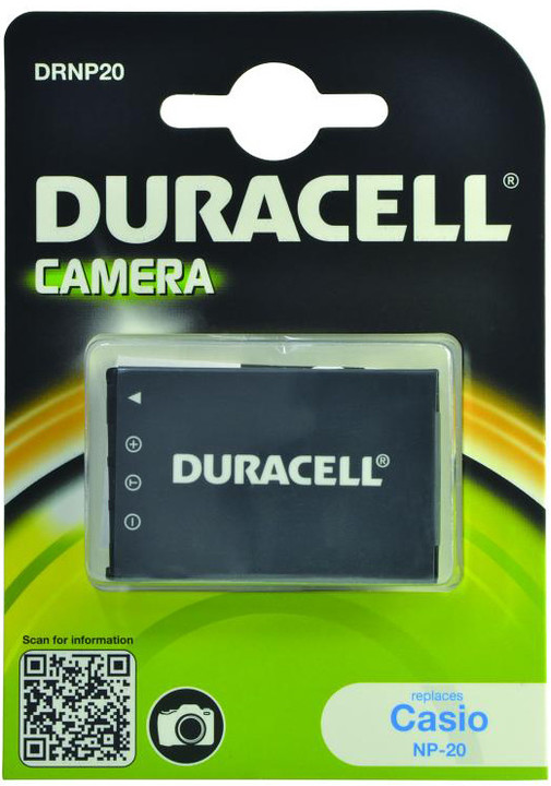 Duracell baterie alternativní pro Casio NP-20