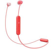 Sony WI-C300, červená - WIC300R.CE7