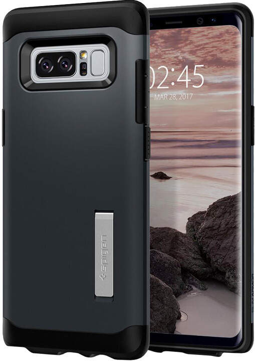 Spigen Slim Armor pro Galaxy Note 8, metal slate