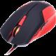CONNECT IT Battle V2 myš, červená