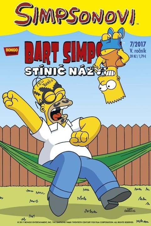 Komiks Bart Simpson: Stínič názvu, 7/2017