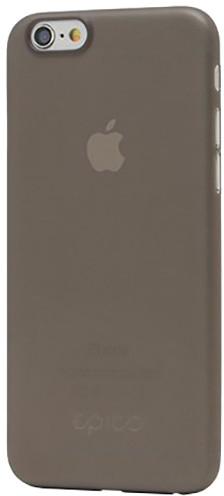 EPICO ultratenký plastový kryt pro iPhone 6/6S EPICO TWIGGY MATT - černý transparentní